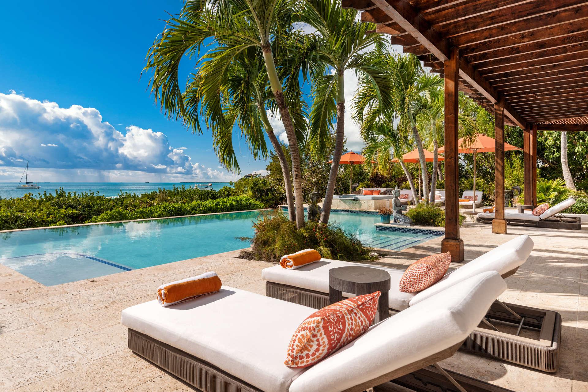 Luxury villa rentals caribbean - Turks and caicos - Providenciales - Sapodilla bay - Valentina Villa - Image 1/15