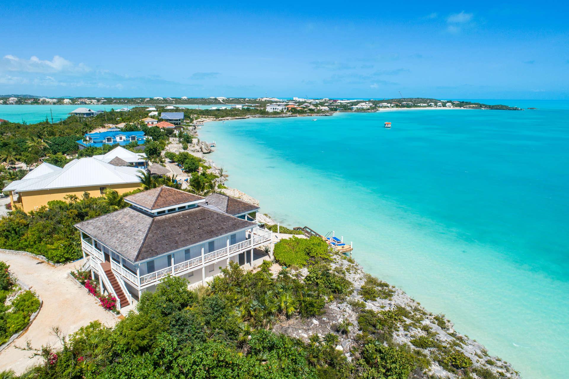 Luxury villa rentals caribbean - Turks and caicos - Providenciales - Oceanpoint - Villa Calypso - Image 1/22