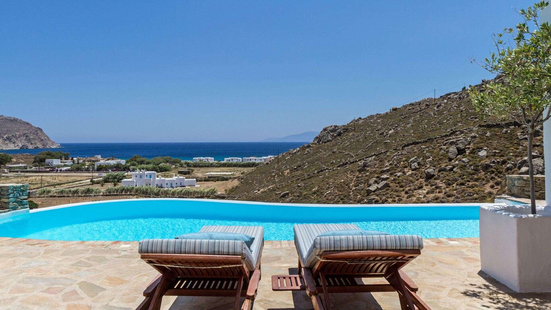 Luxury vacation rentals europe - Greece - Mykonos - Agrari beach - Agrari Beach House - Image 1/10