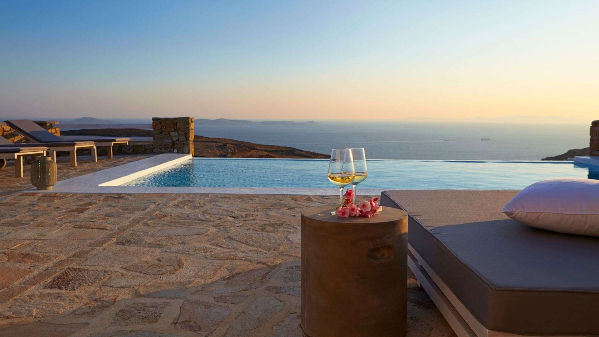 Luxury vacation rentals europe - Greece - Mykonos - Fanari - Crystal Sea - Image 1/8