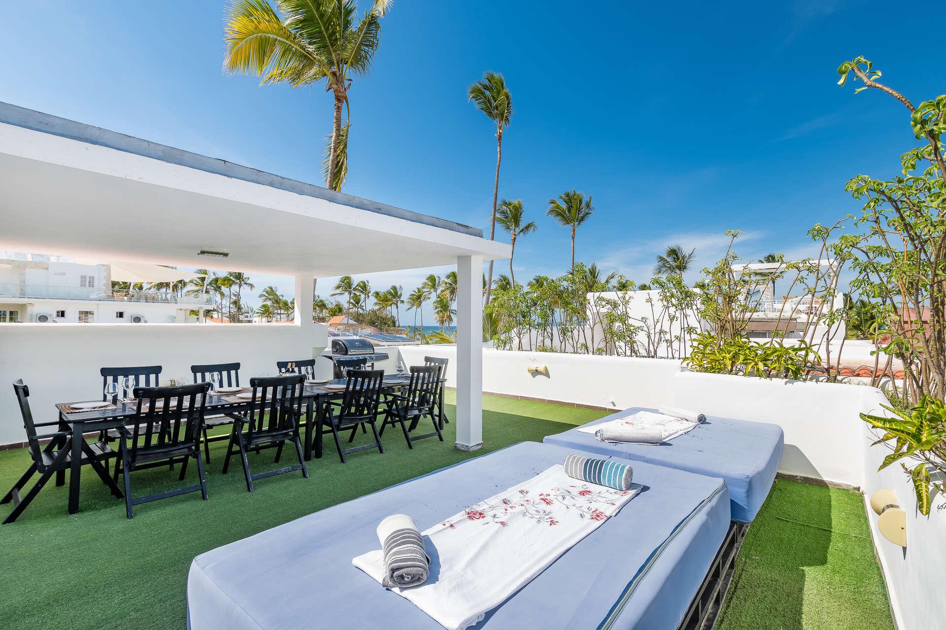 Luxury villa rentals caribbean - Dominican republic - Punta cana - Bavaro - Palmera Penthouse - Image 1/16
