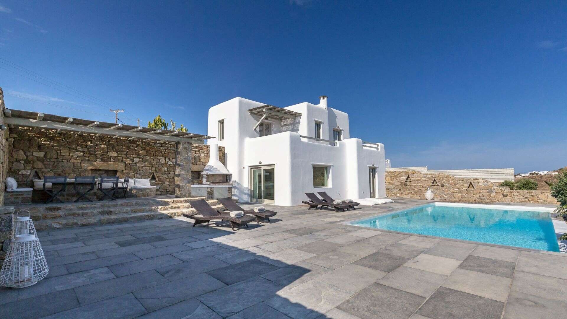 Luxury vacation rentals europe - Greece - Mykonos - Kalafatis - Poseidon 1 - Image 1/12