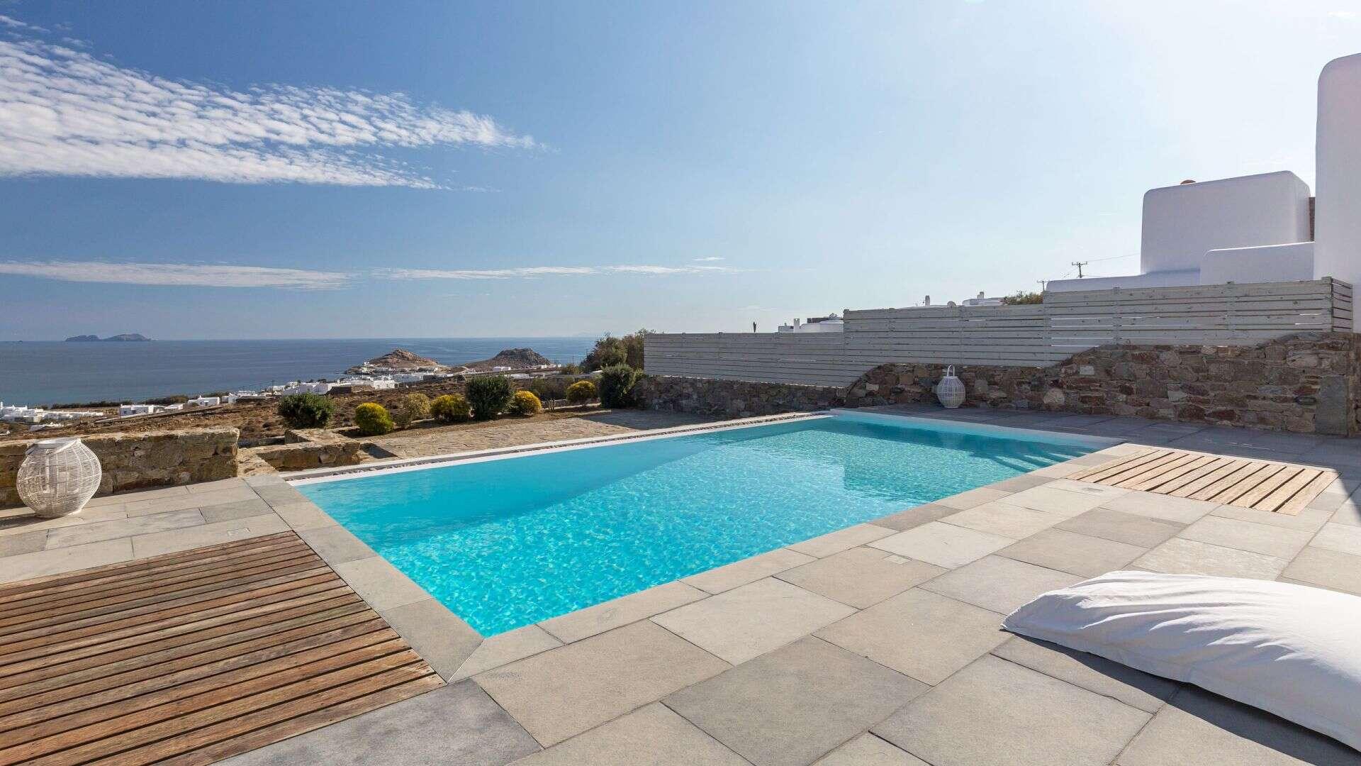 Luxury vacation rentals europe - Greece - Mykonos - Kalafatis - Poseidon 2 - Image 1/12