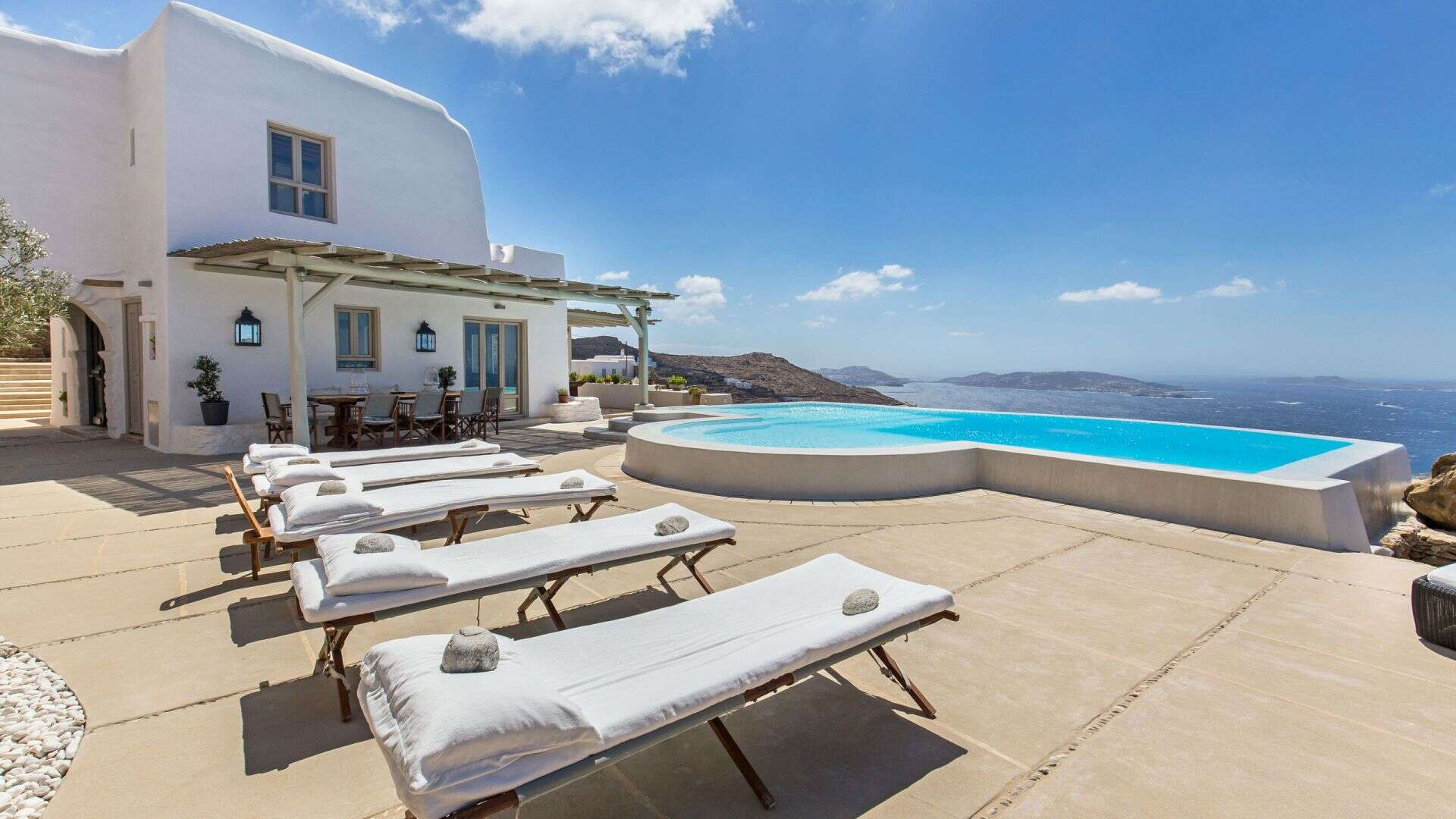 Luxury vacation rentals europe - Greece - Mykonos - Fanari - The Eagle's Nest - Image 1/26