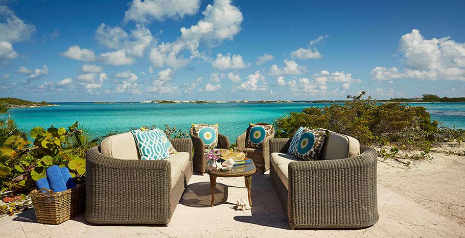 Luxury villa rentals caribbean - Bahamas - Exumas - Fowl cay resort - Bluemoon Villa - Image 1/12