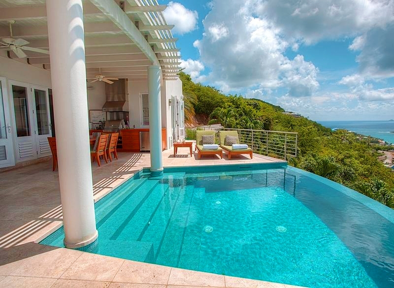 Luxury villa rentals caribbean - Usvi - St thomas - Bellevue  - Palms at Morningstar - Image 1/18