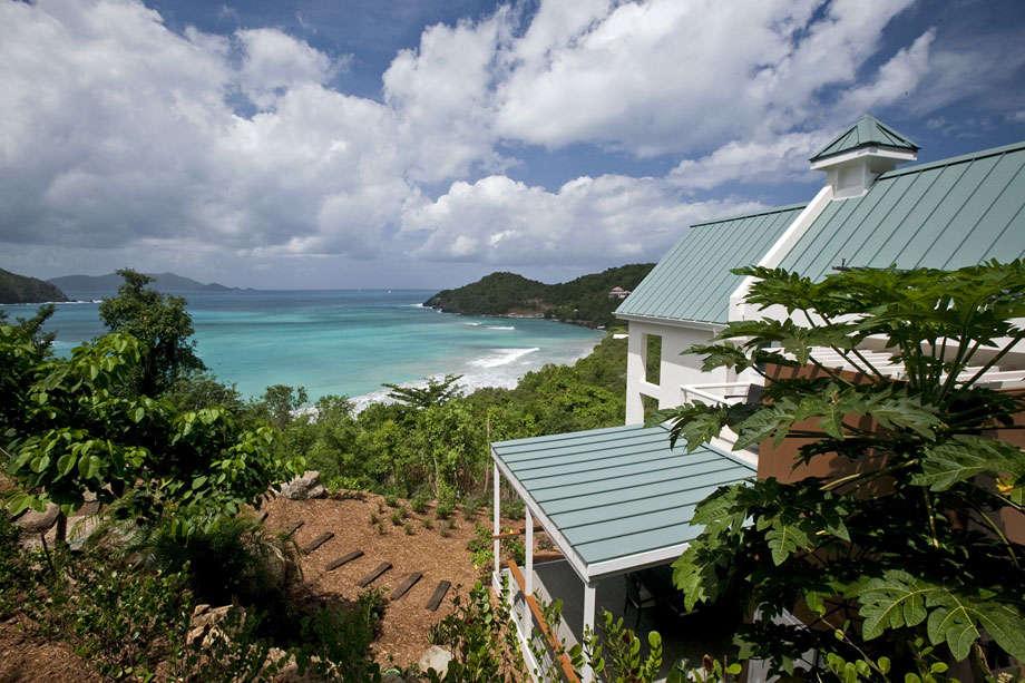Luxury villa rentals caribbean - British virgin islands - Tortola - Brewers bay - The Refuge - Image 1/13