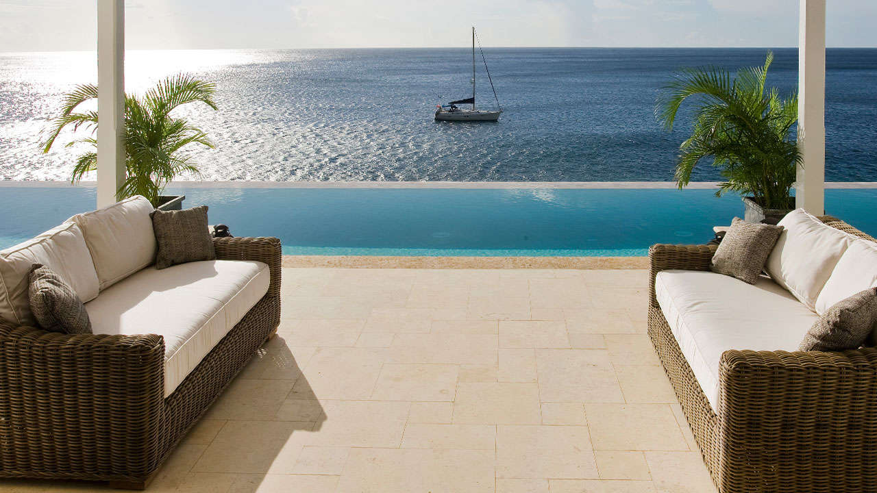 Luxury villa rentals caribbean - St lucia - Sugarbeach - Viceroy resort - 3 Bedroom Ocean View Villa - Image 1/9