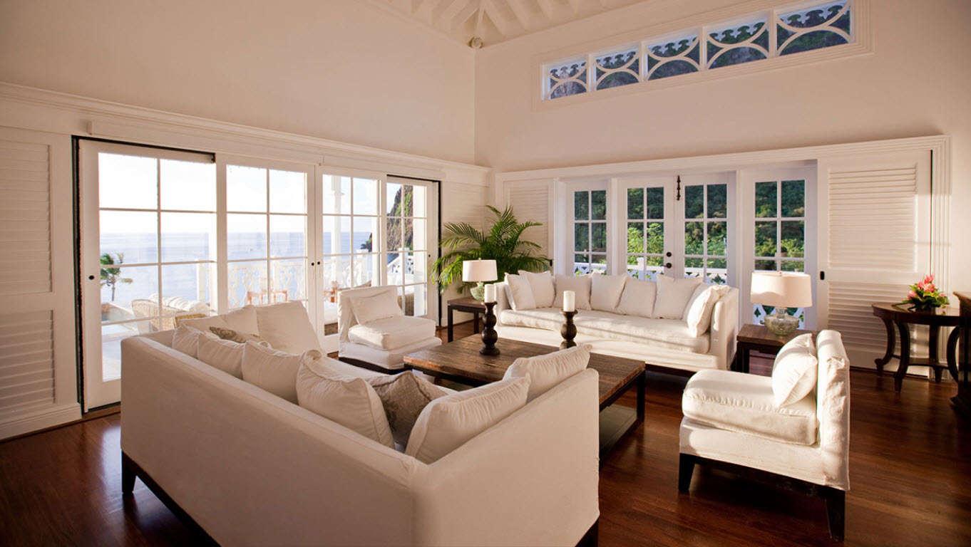 Luxury villa rentals caribbean - St lucia - Sugarbeach - Viceroy resort - 2 Bedroom Ocean View Villa - Image 1/7