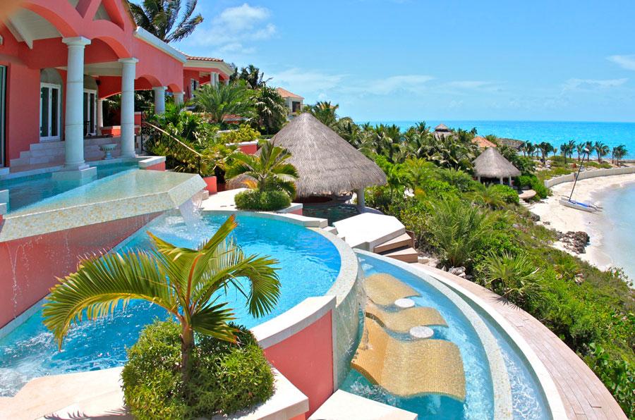 Luxury villa rentals caribbean - Turks and caicos - Providenciales - Turtle tail - Villa Mani - Image 1/16