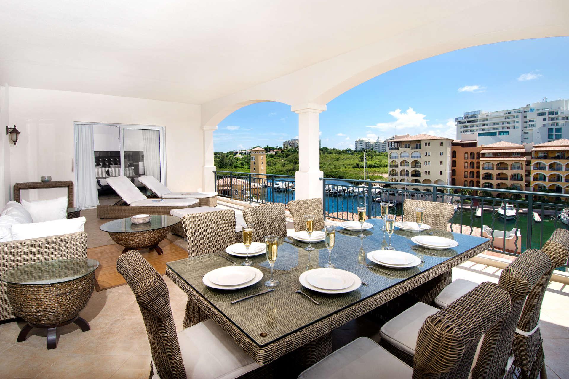 Luxury villa rentals caribbean - St martin - Sint maarten - Cupecoy - Aqua Vue - Image 1/12