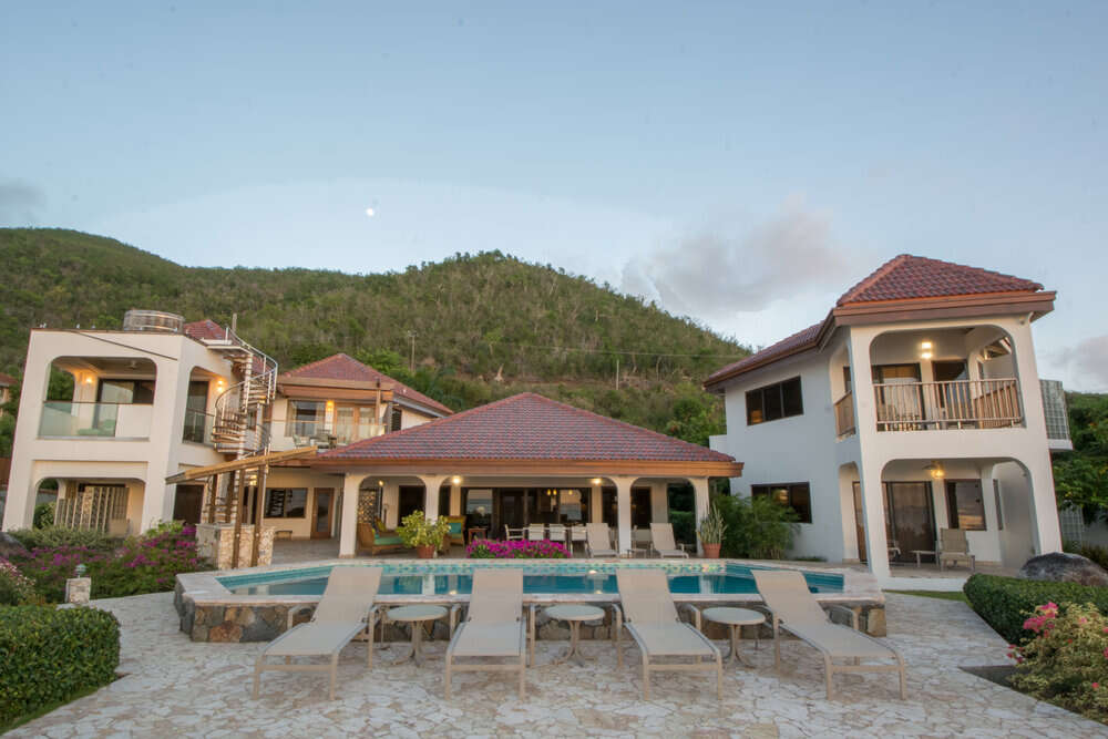 Luxury villa rentals caribbean - British virgin islands - Virgin gorda - Mahoe bay - Caribbean Wind - Image 1/25
