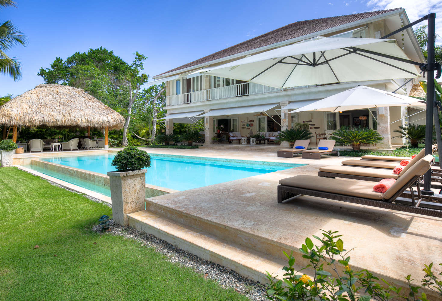 Luxury villa rentals caribbean - Dominican republic - Punta cana - Punta cana resort and club - Hacienda A13 | Buena Vida - Image 1/36