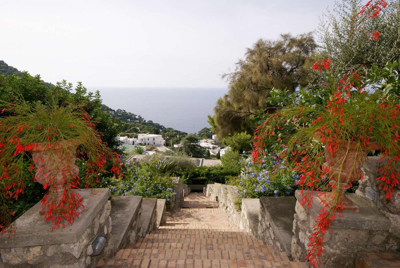 Luxury vacation rentals europe - Italy - Campania ih - Capri island - Il Fortino - Image 1/20
