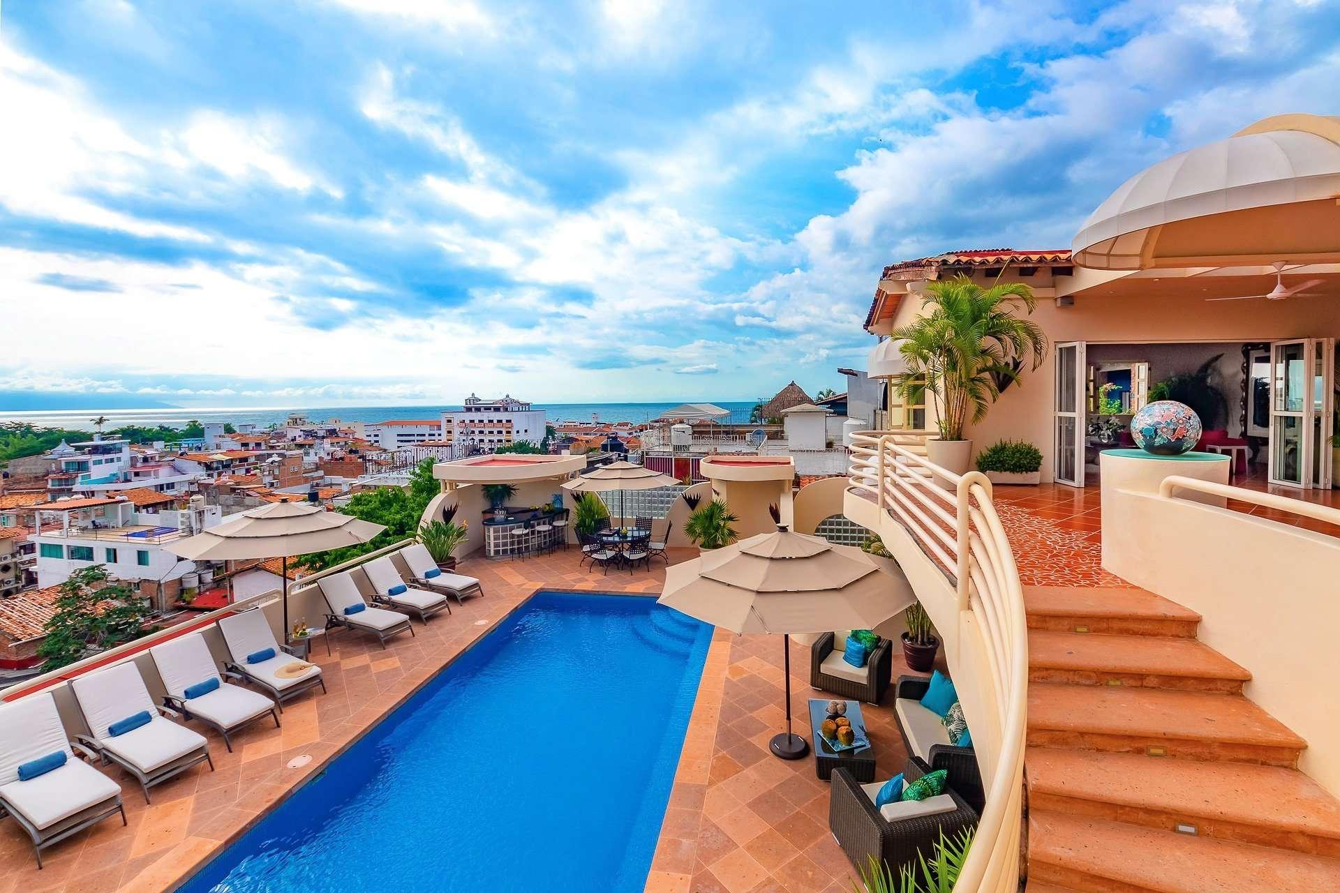 Luxury vacation rentals mexico - Puerto vallarta - Gringo gulch - No location 4 - Casa Tabachin - Image 1/38