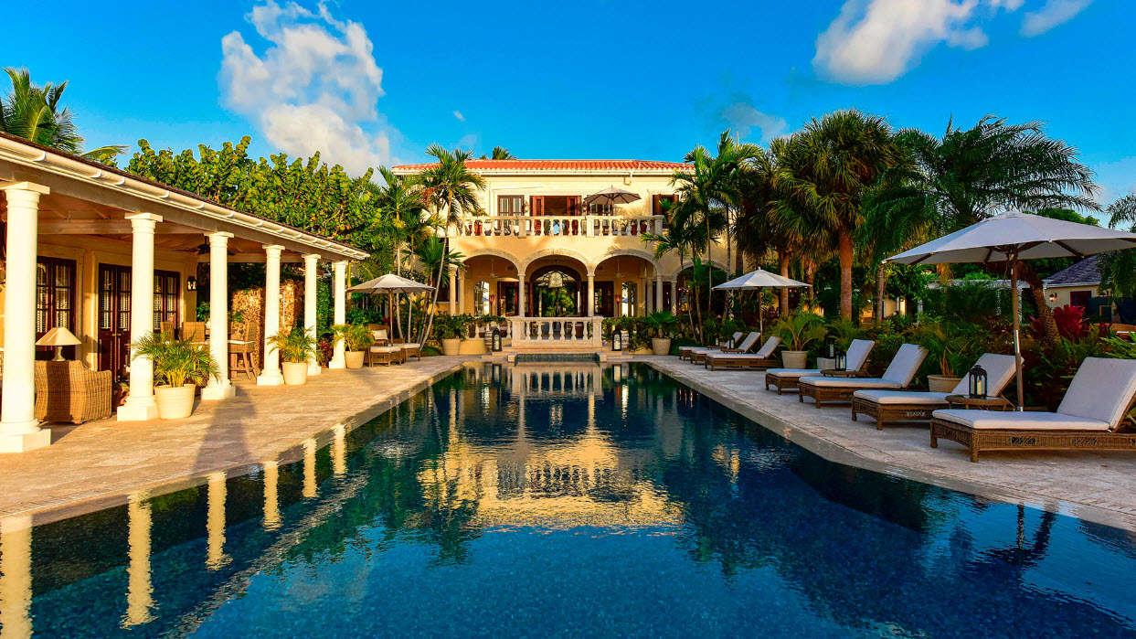 Luxury villa rentals caribbean - Antigua - Jumby bay - La Casa Estate - Image 1/13
