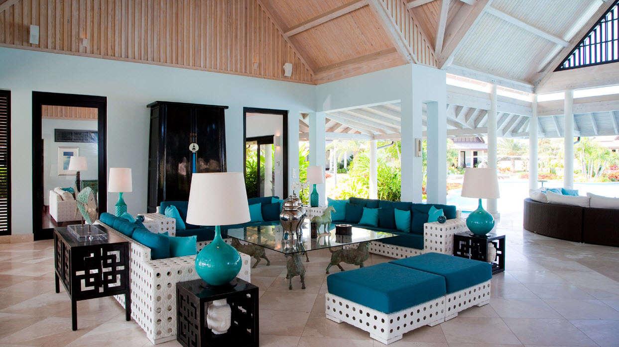 Luxury villa rentals caribbean - Antigua - Jumby bay - Lazy Lizard - Image 1/10