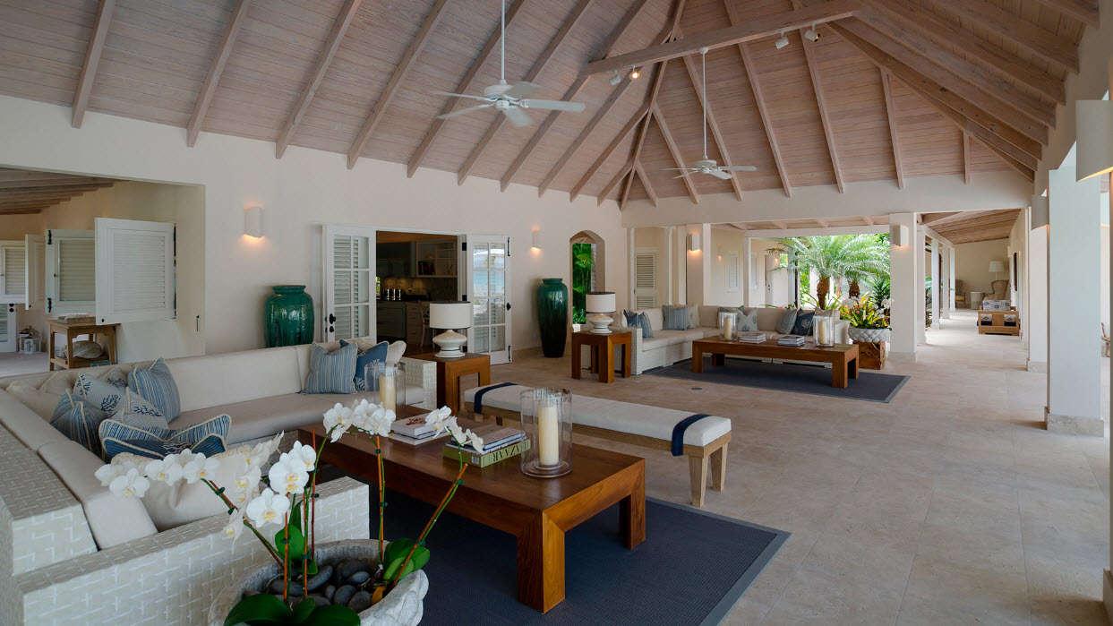 Luxury villa rentals caribbean - Antigua - Jumby bay - Sandpiper Beach House - Image 1/8