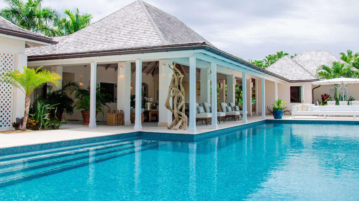 Luxury villa rentals caribbean - Antigua - Jumby bay island - No location 4 - Sandpiper Beach House - Image 1/17