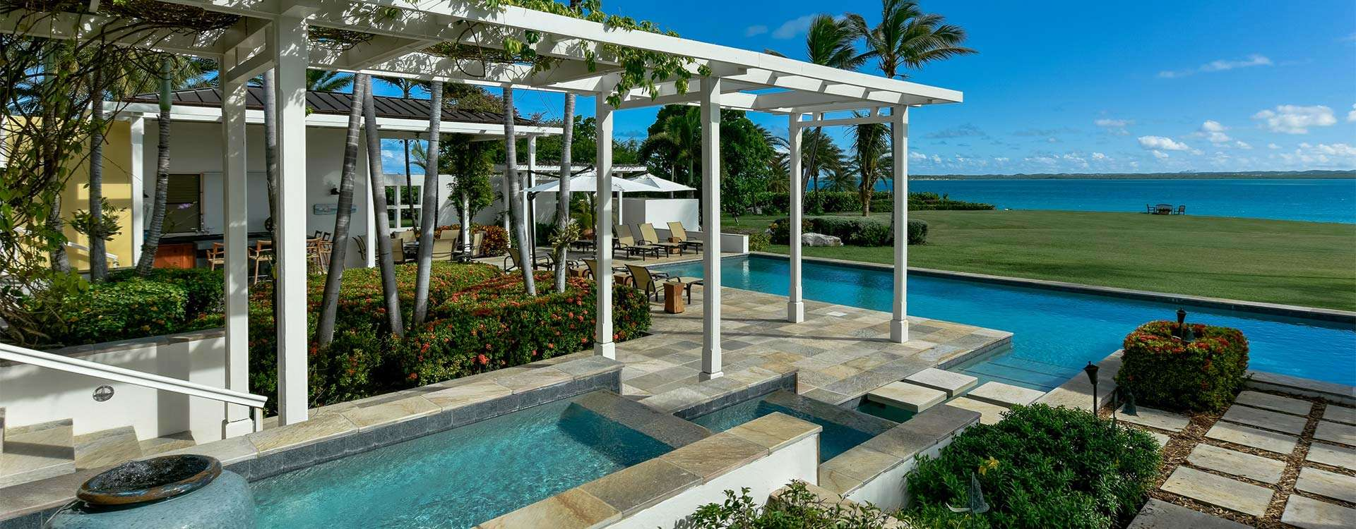 Luxury villa rentals caribbean - Antigua - Jumby bay - Turtle Crossing - Image 1/6