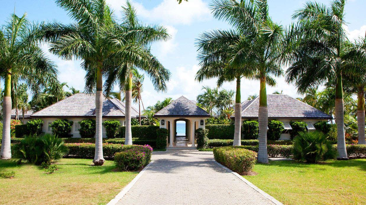 Luxury villa rentals caribbean - Antigua - Jumby bay - Turtle Reef Estate - Image 1/6