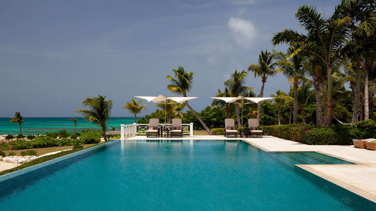 Luxury villa rentals caribbean - Antigua - Jumby bay island - No location 4 - Turtle Reef Estate - Image 1/14