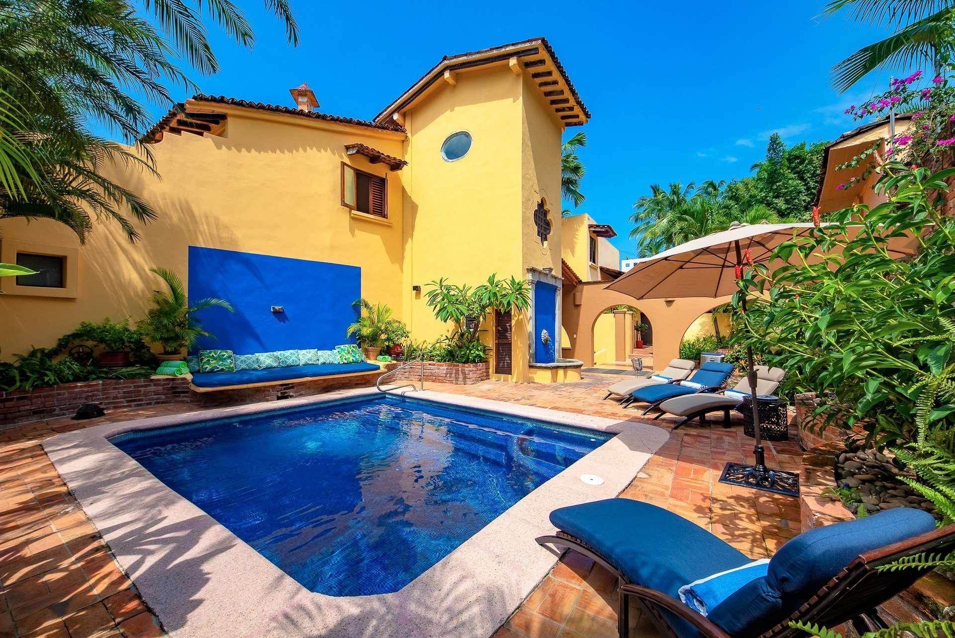 Luxury vacation rentals mexico - Puerto vallarta - Conchas chinas - Villa Las Puertas - Image 1/48