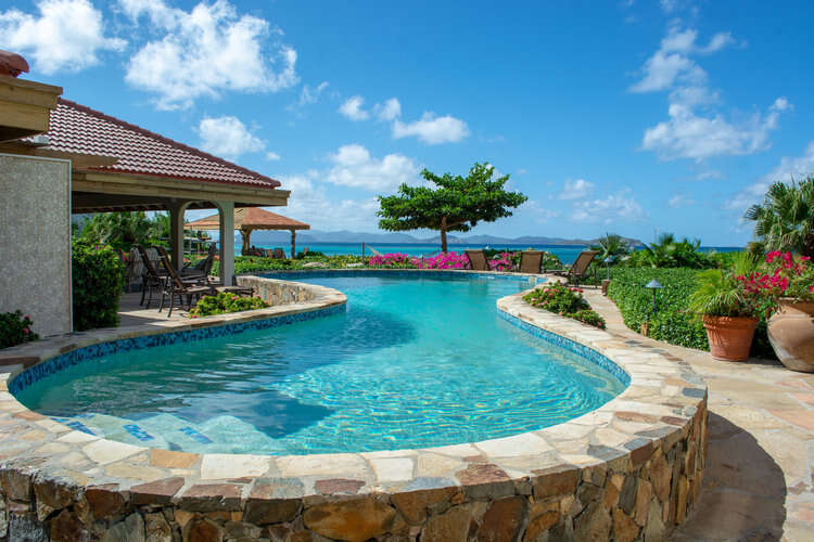 Luxury villa rentals caribbean - British virgin islands - Virgin gorda - Mahoe bay - Beachcomber - Image 1/20