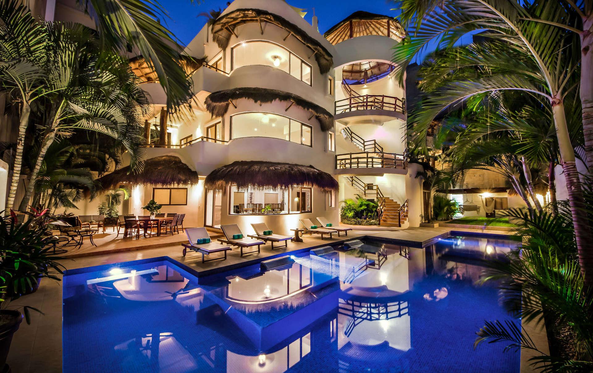 Luxury vacation rentals mexico - Riviera maya - Playa del carmen - No location 4 - Villa Mirasol - Image 1/31