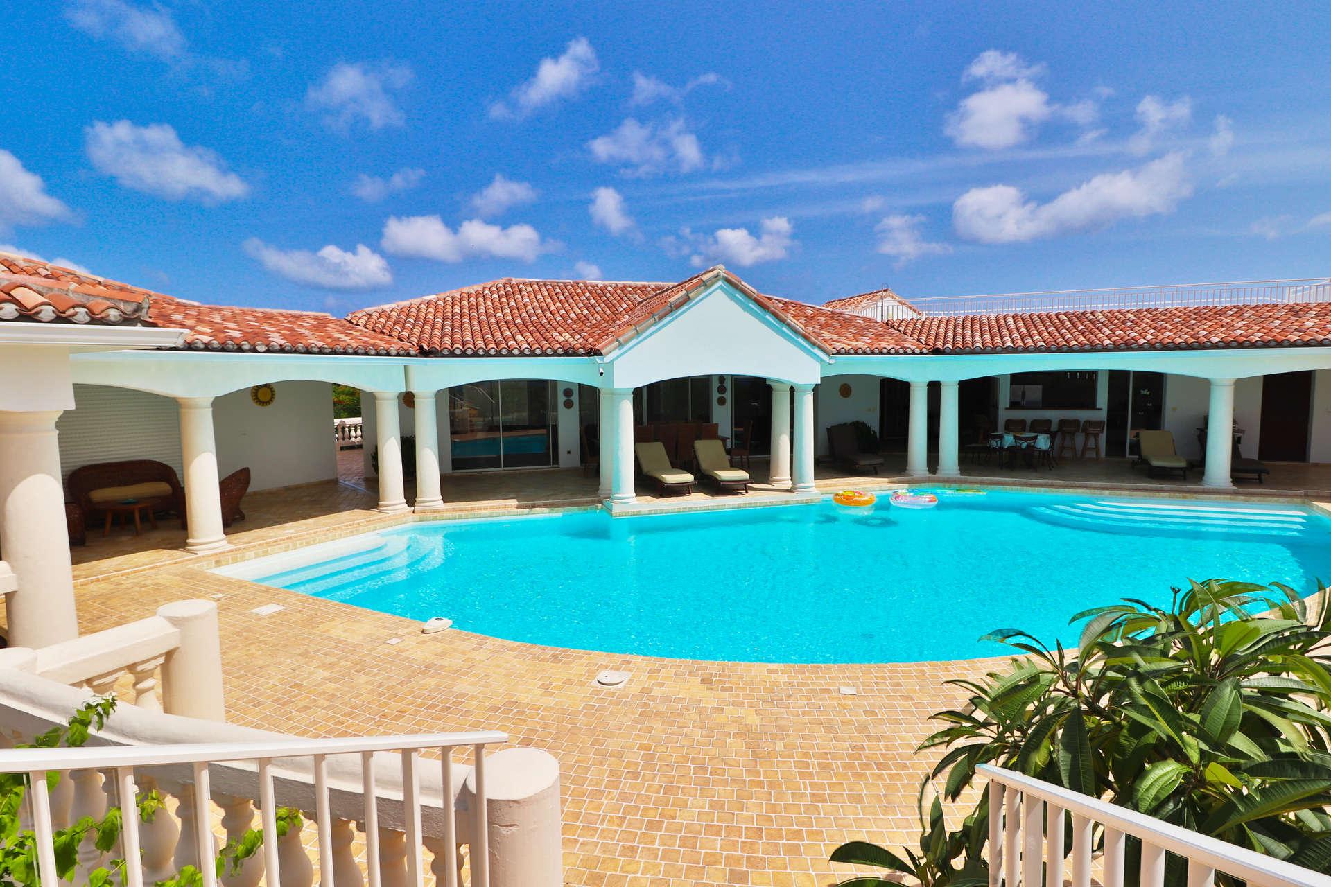 Luxury villa rentals caribbean - St martin - Saint martin french - Les terres basses - Villa Jasmin - Image 1/26
