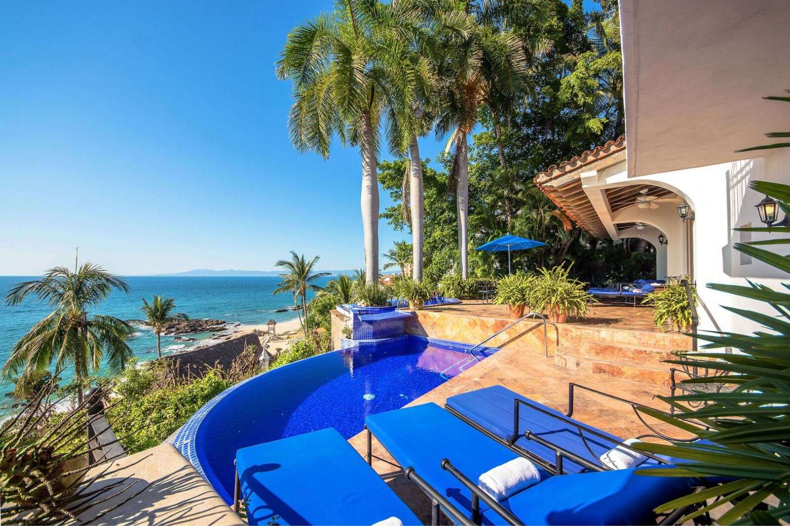 Luxury vacation rentals mexico - Puerto vallarta - Conchas chinas - No location 4 - Villa Vista de Aves - Image 1/19