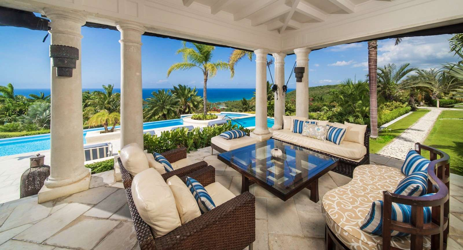Luxury villa rentals caribbean - Jamaica - Try all club - Twin Palms - Image 1/17