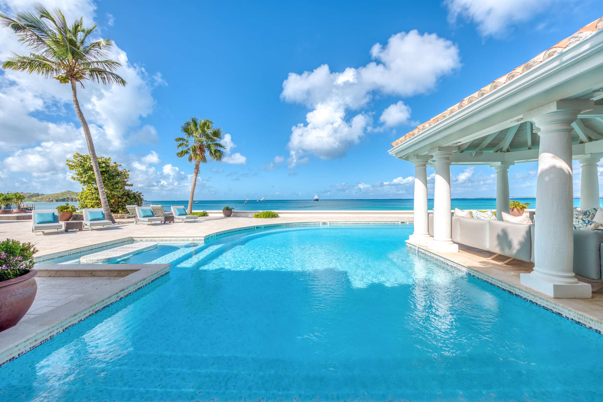 Luxury villa rentals caribbean - St martin - Saint martin french - Grand case - Petite Plage 5 - Image 1/33