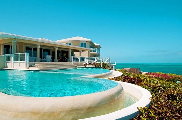 Luxury villa rentals caribbean - Turks and caicos - Providenciales - Turtle cove - Stargazer Villa - Image 1/17