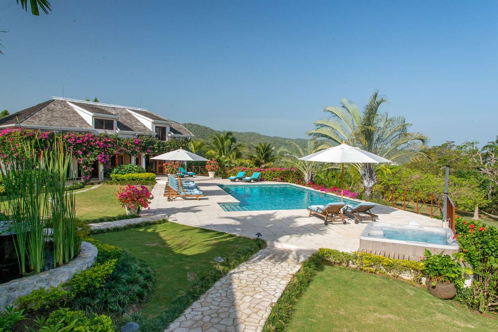 Luxury villa rentals caribbean - Jamaica - Try all club - Sugar Hill - Image 1/28