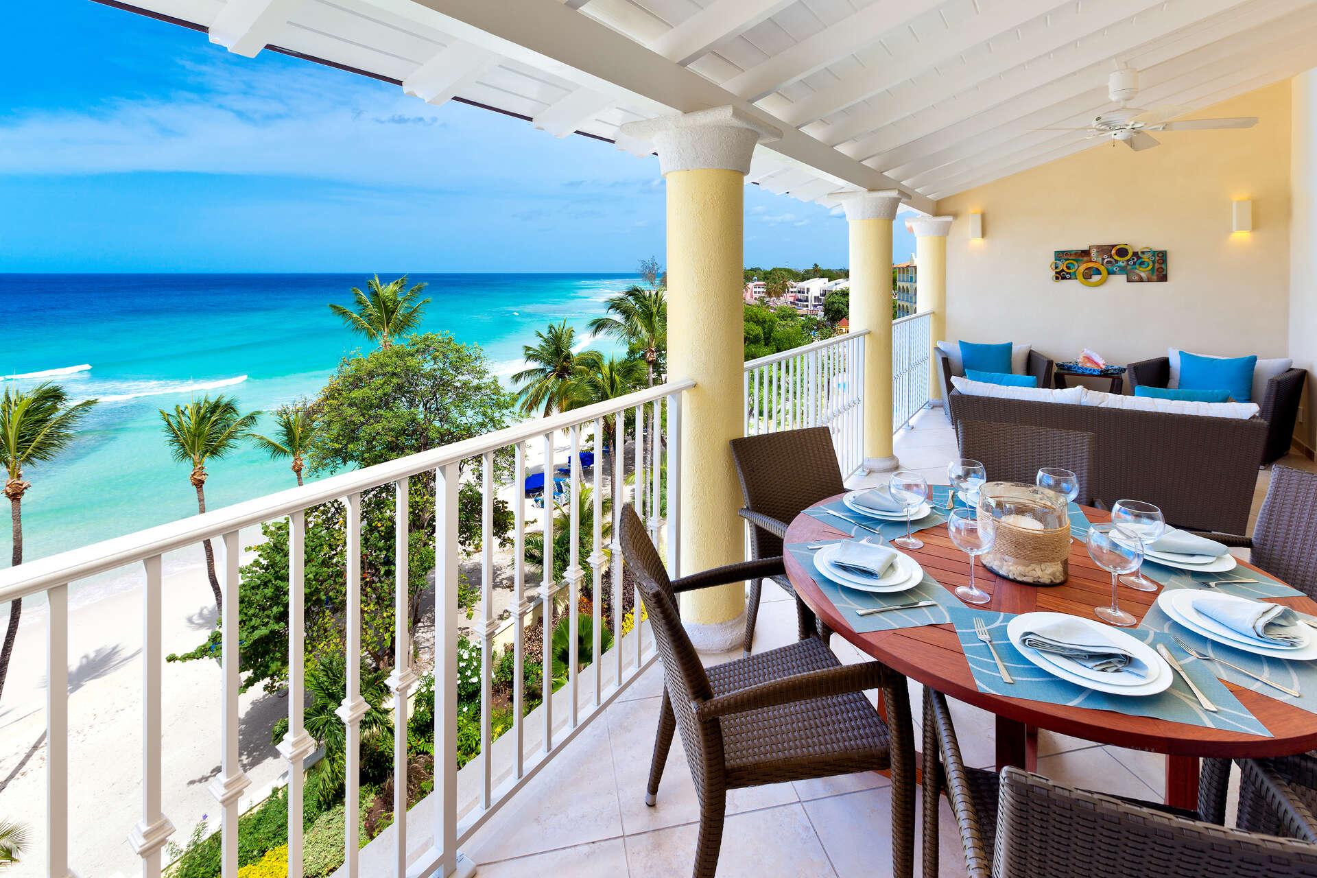 Luxury villa rentals caribbean - Barbados - Christ church - Oistins  - Sapphire Beach 517 - Image 1/12