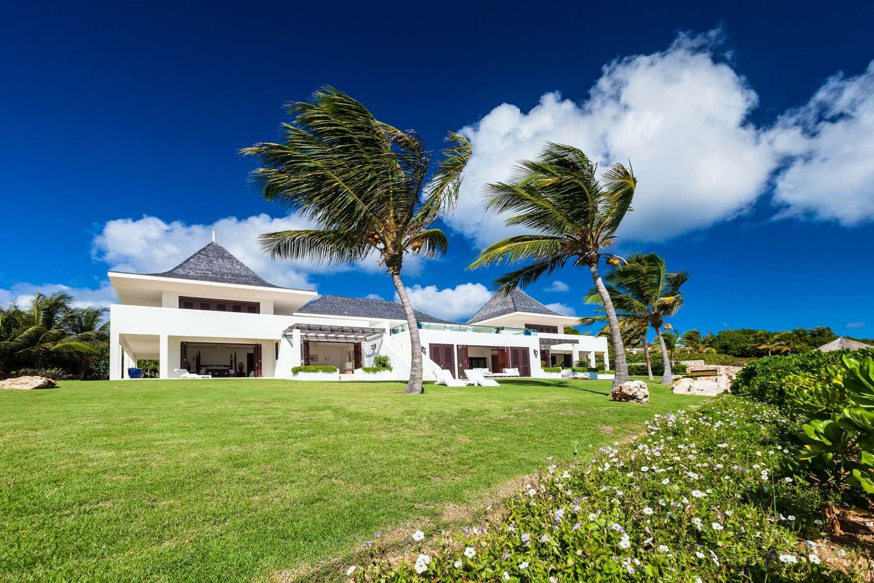 Luxury villa rentals caribbean - Anguilla - Little harbour anguilla - No location 4 - Le Bleu Villa - Image 1/14