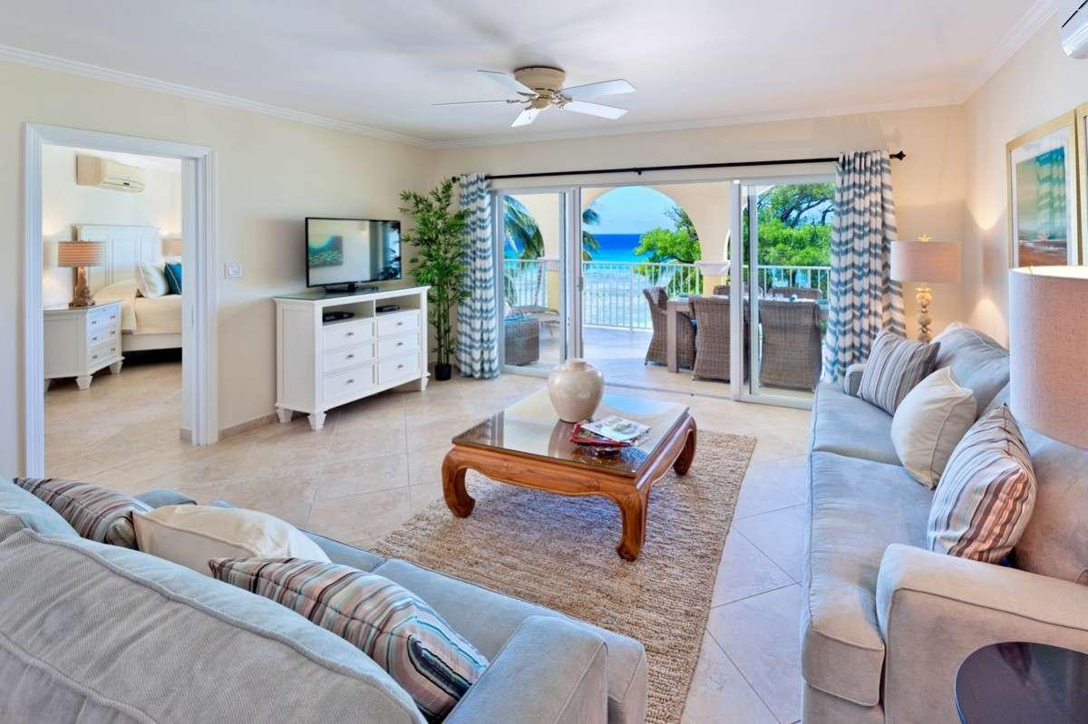 Luxury villa rentals caribbean - Barbados - Christ church - Oistins  - Sapphire Beach 311 - Image 1/12