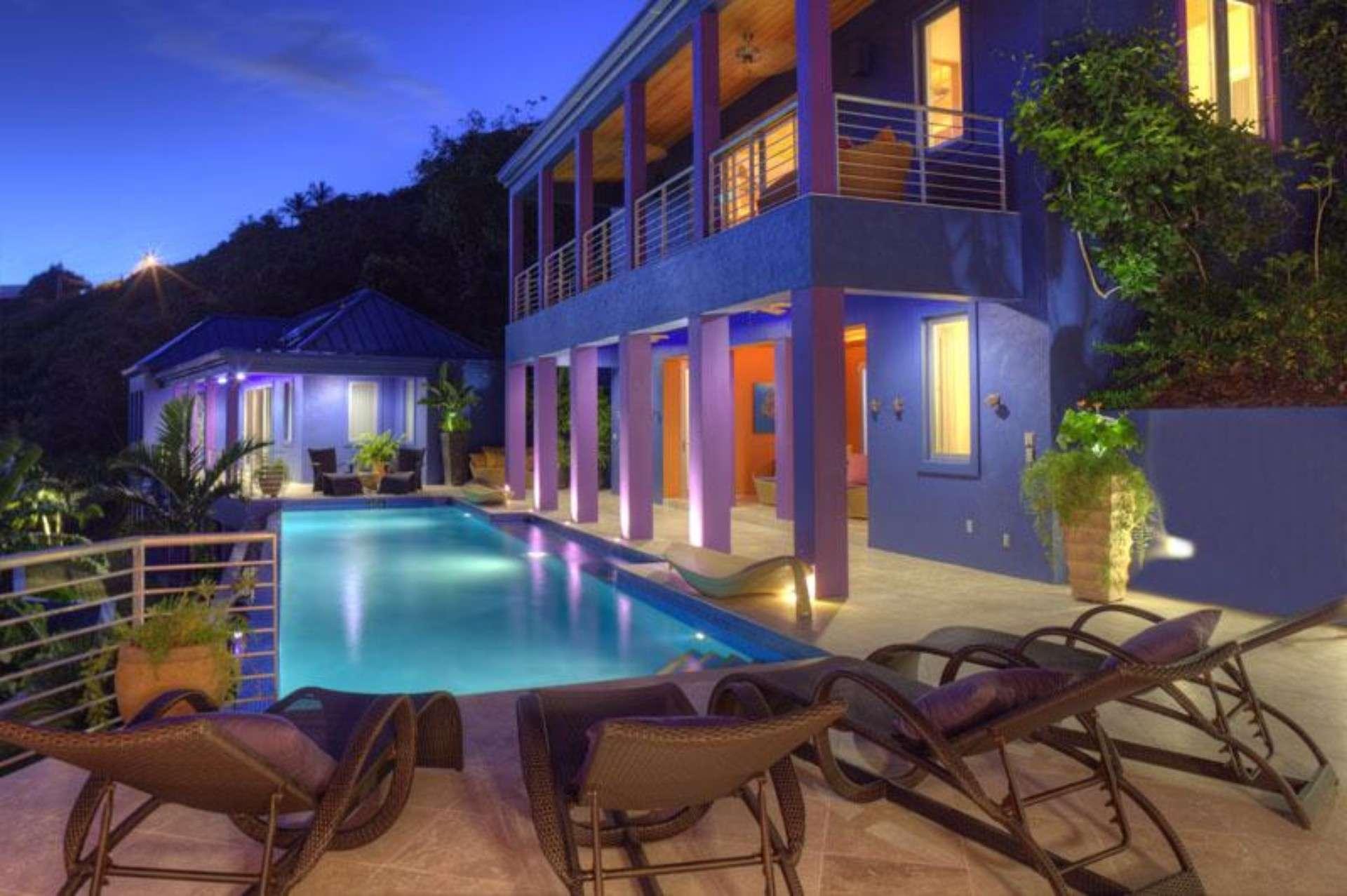 Luxury villa rentals caribbean - Usvi - St john - Rendezvous bay - Mare Blu - Image 1/18