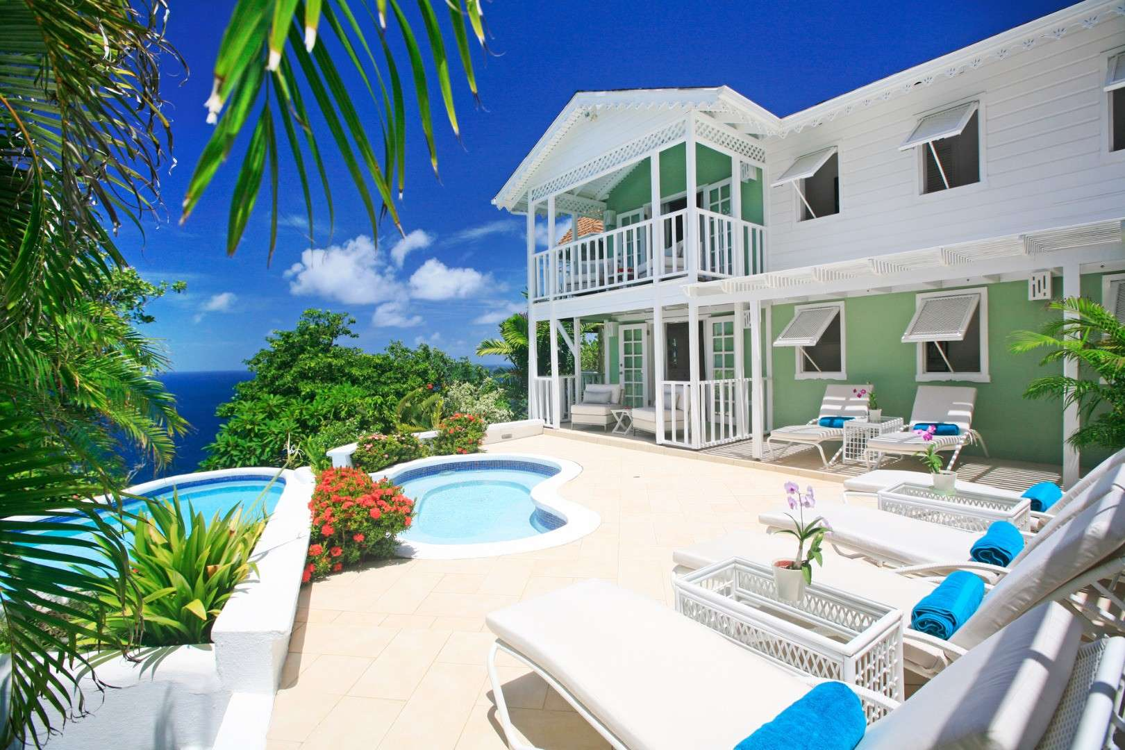 Luxury villa rentals caribbean - St lucia - Cap estate sl - Saline point - Saline Reef - Image 1/8