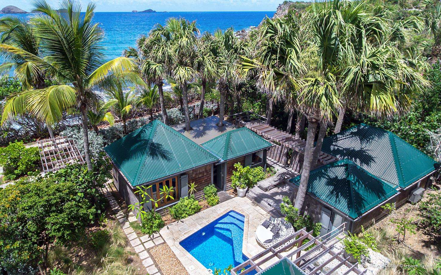 Luxury villa rentals caribbean - St barthelemy - Barth anse des lezards - No location 4 - Palm House - Image 1/18