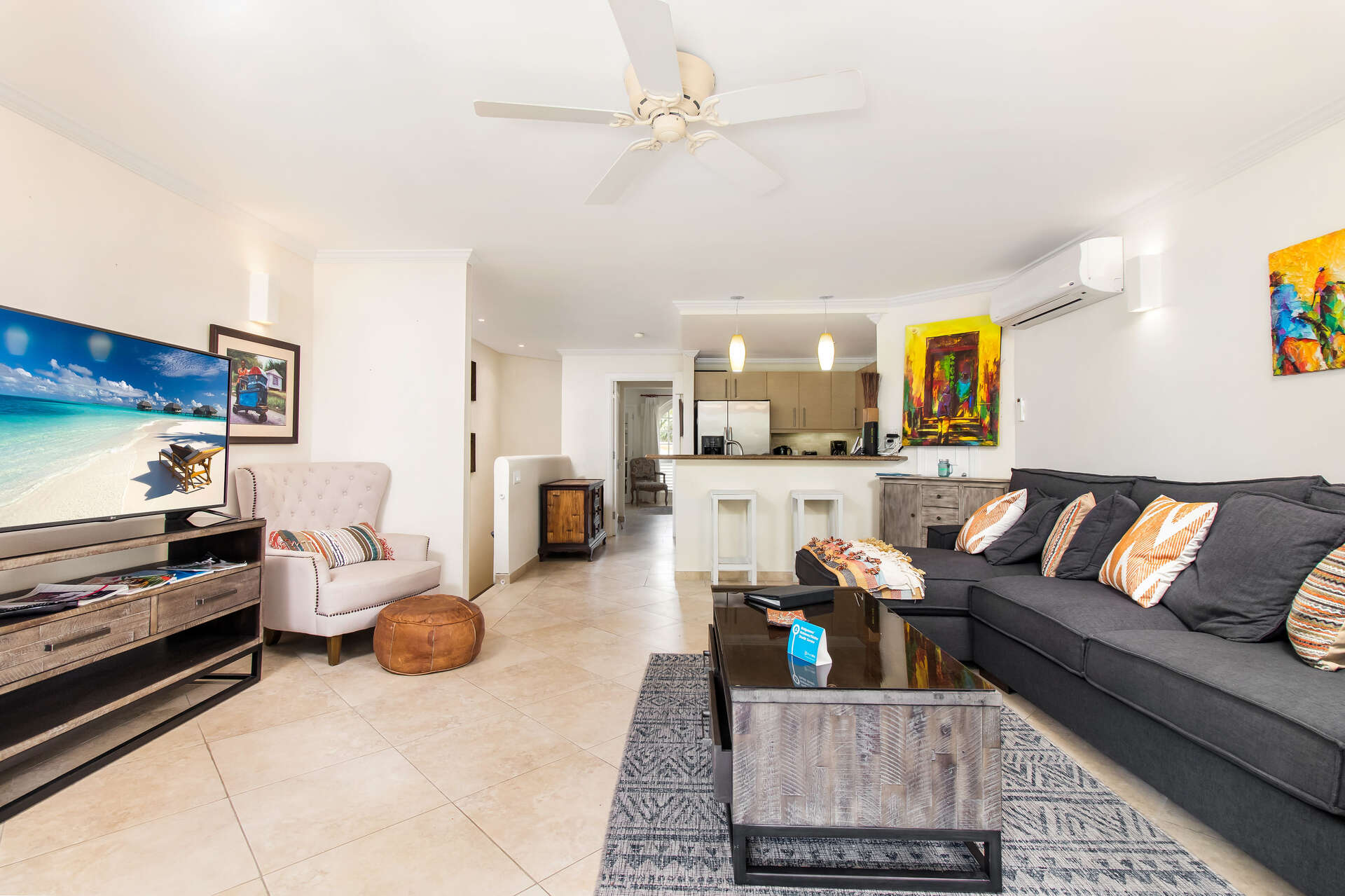 Luxury villa rentals caribbean - Barbados - Christ church - Sapphire beach condos - Sapphire Beach 102 - Image 1/14