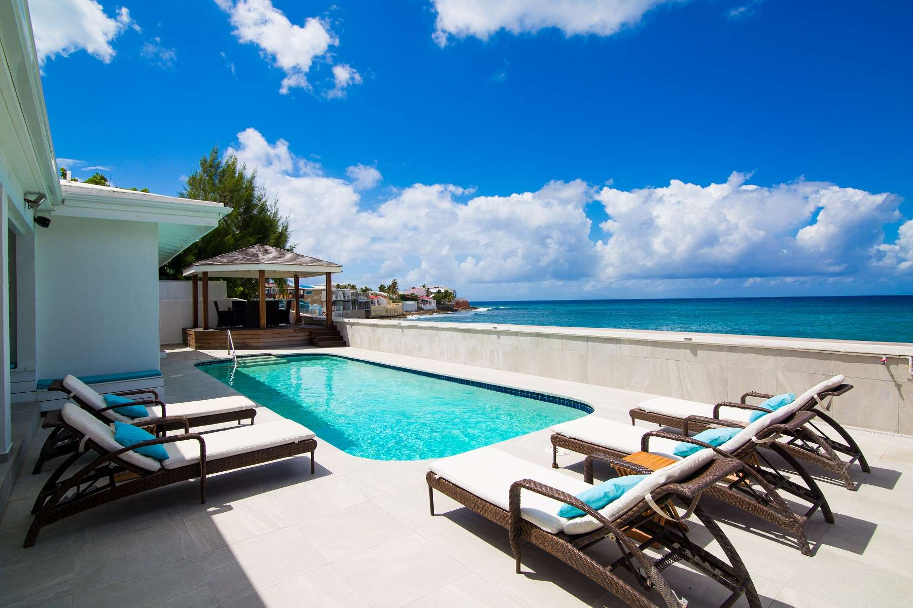 Luxury villa rentals caribbean - St martin - Sint maarten - Beacon hill - Moonlight Beach House - Image 1/20