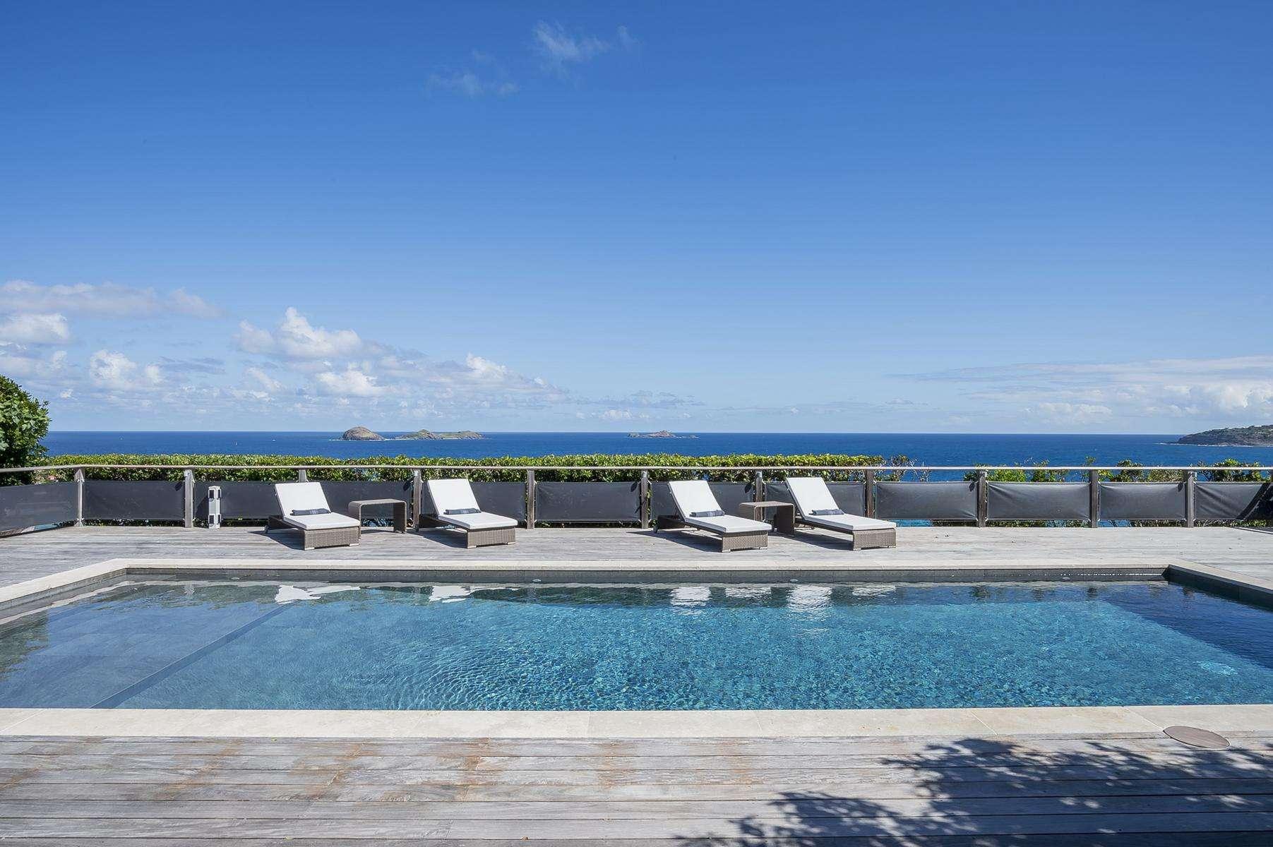 Luxury villa rentals caribbean - St barthelemy - Anse des cayes - Claridge - Image 1/31
