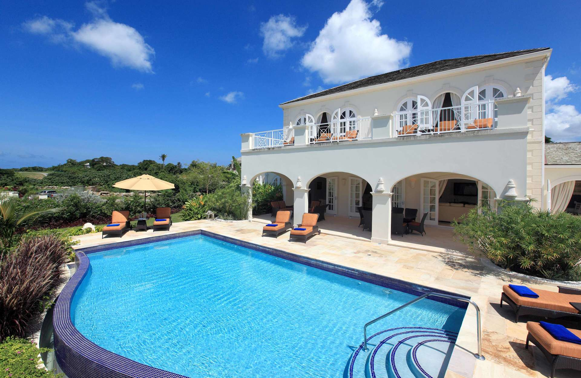 Luxury villa rentals caribbean - Barbados - St james - Royal westmoreland golf resort - Mahogany Drive 7 - Image 1/10