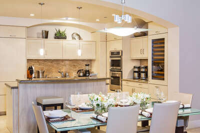 Gourmet Kitchen and Dining Area