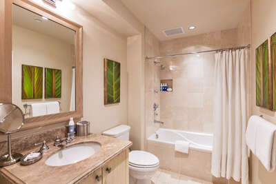 Third Bathroom Marble with Tub/Shower