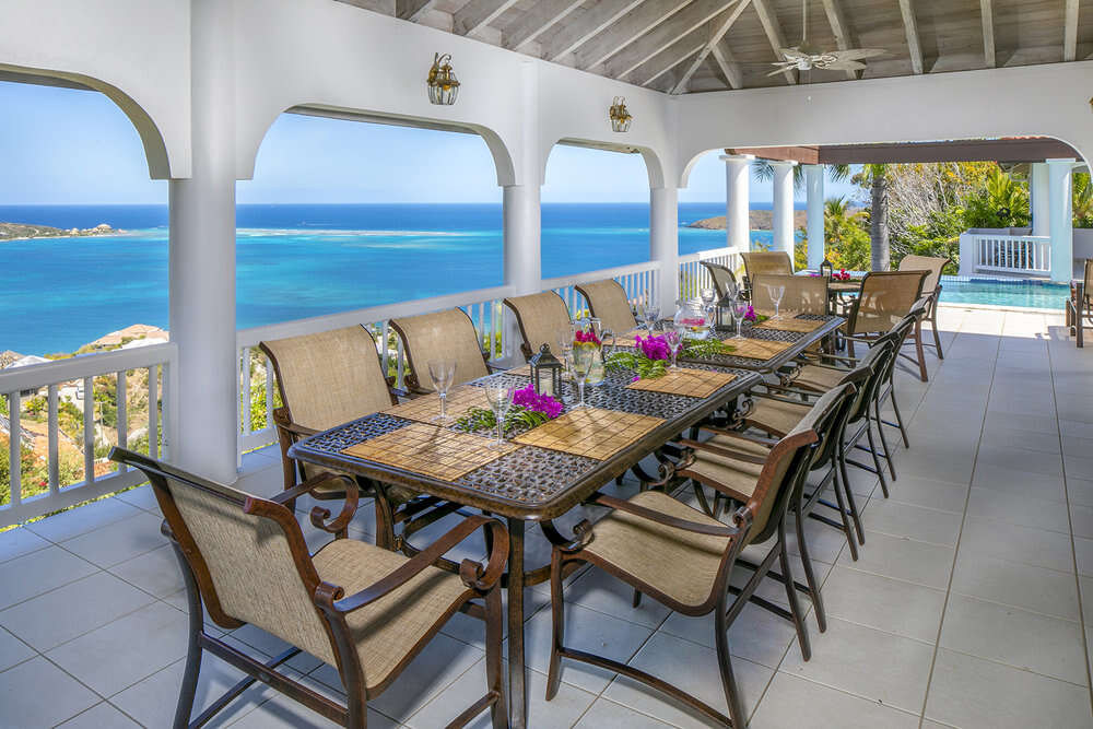 Luxury villa rentals caribbean - British virgin islands - Virgin gorda - Leverick bay - Villa Tamar - Image 1/25