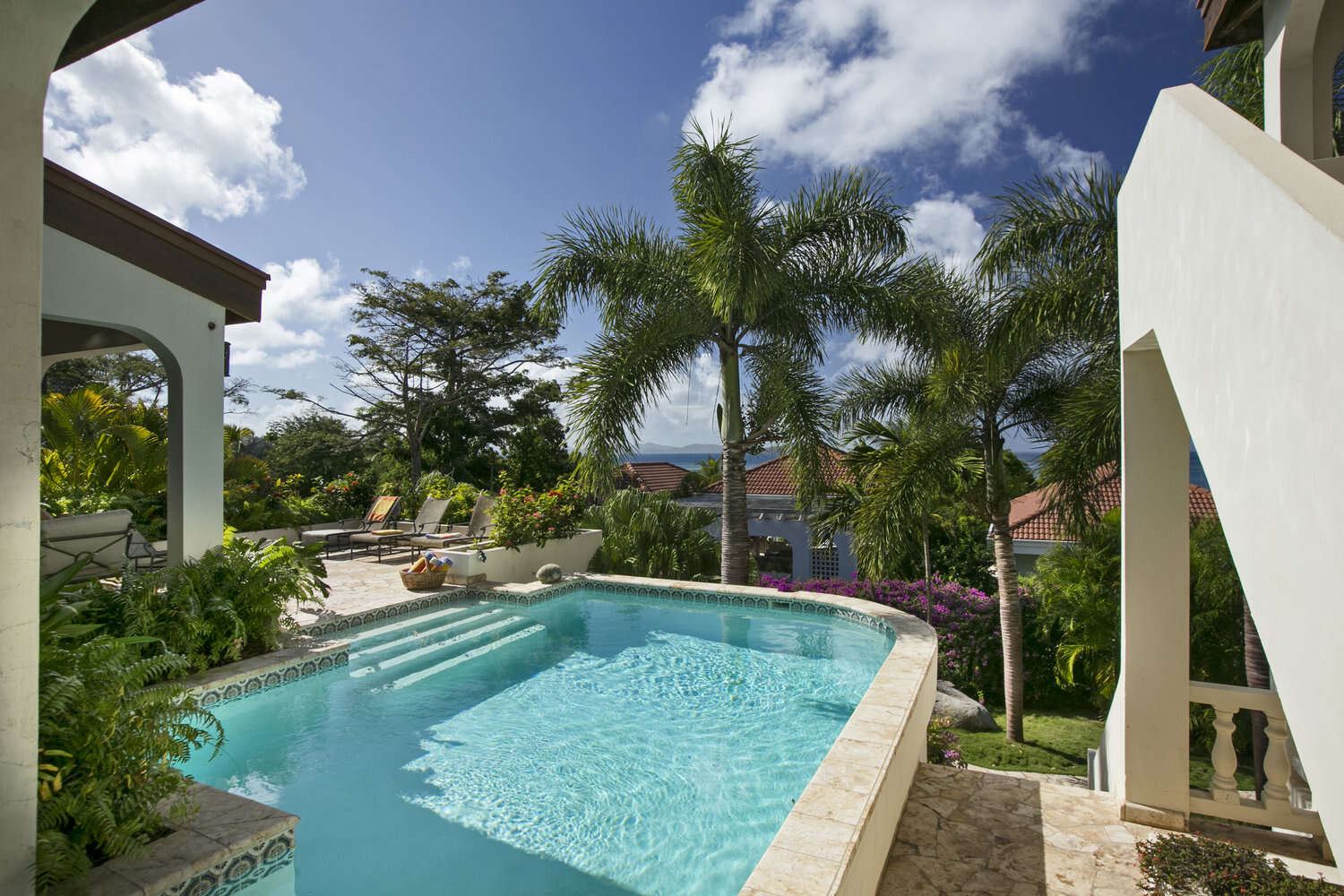 Luxury villa rentals caribbean - British virgin islands - Virgin gorda - Mahoe bay - Bellamare - Image 1/19