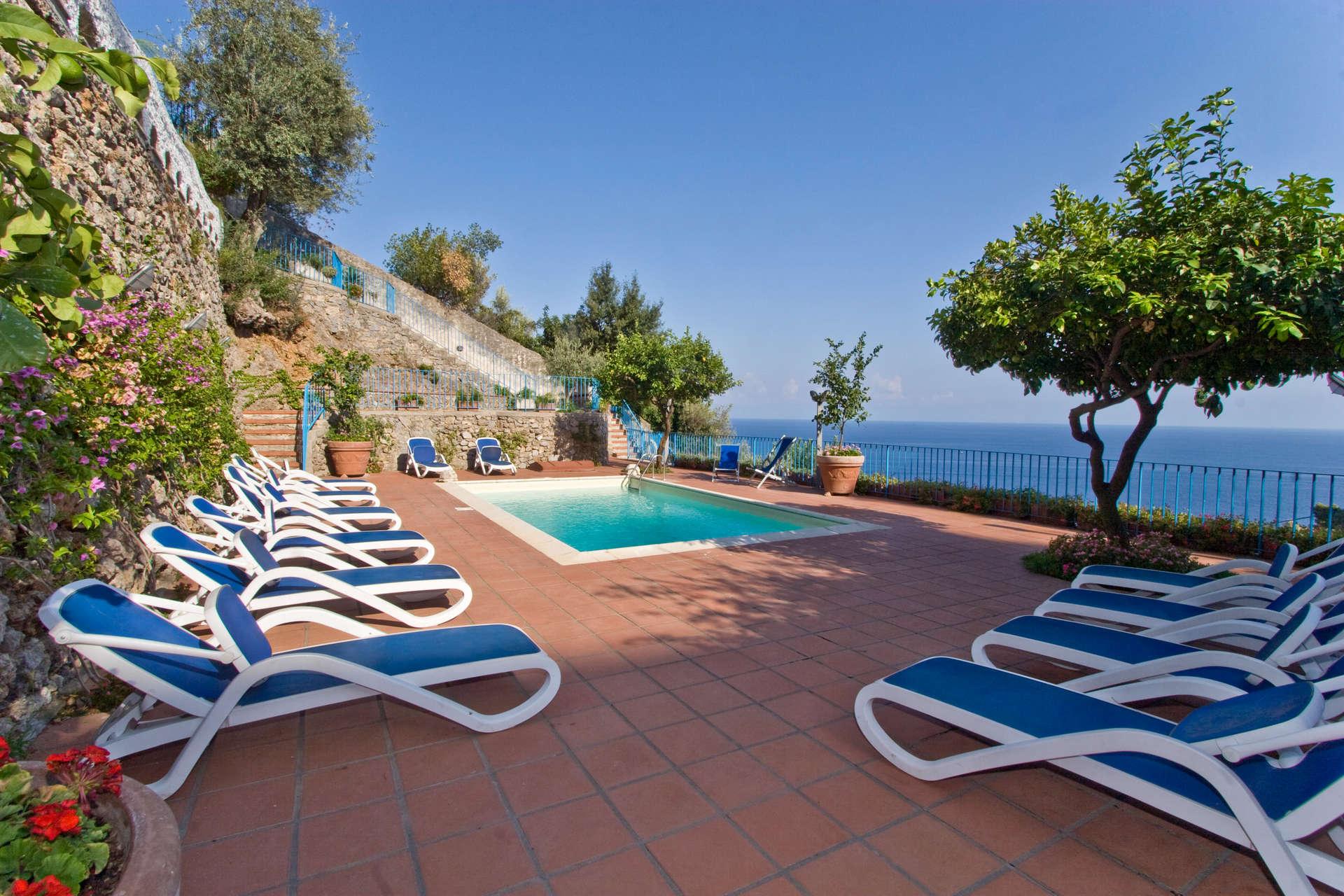 Luxury vacation rentals europe - Italy - Amalfi coast - Am alfi - Stella Villa - Image 1/23